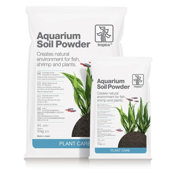 Aquarium Soil Powder 1-2 mm Tropica Aquarienbodengrund
