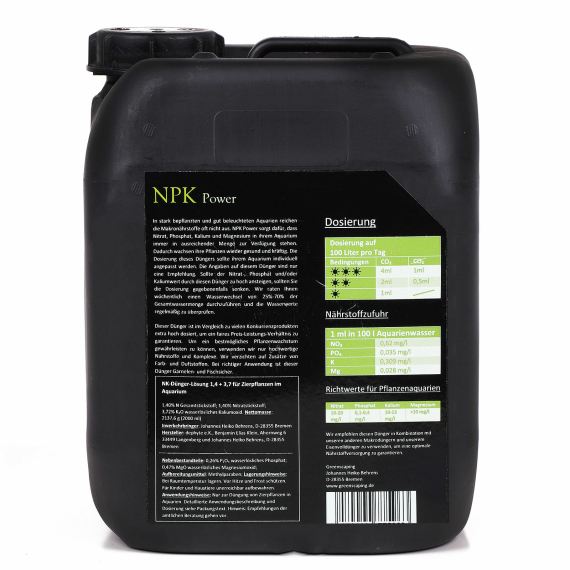 NPK Power 5000 ml - Makro Dünger