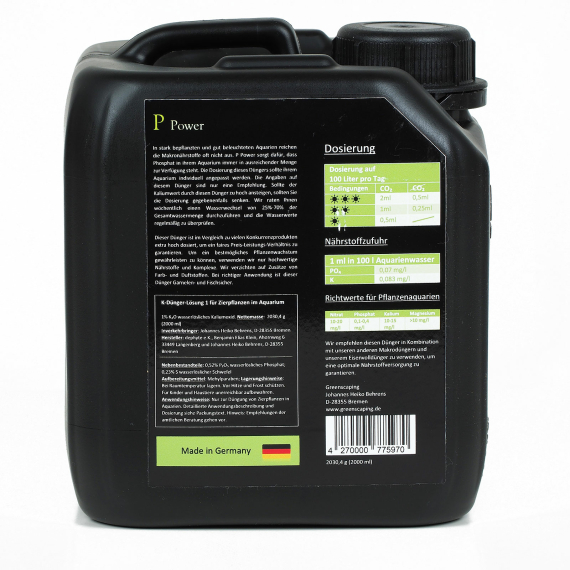 P Power 2000 ml - Phosphat Dünger